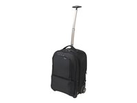 "Dicota Backpack Roller Pro - Notebook carrying backpack/trolley - 17.3"" D31224"